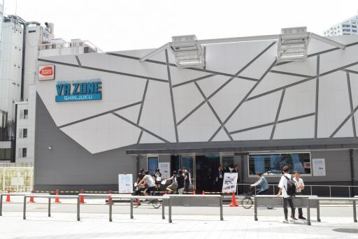 「VR ZONE SHINJUKU」の画像検索結果