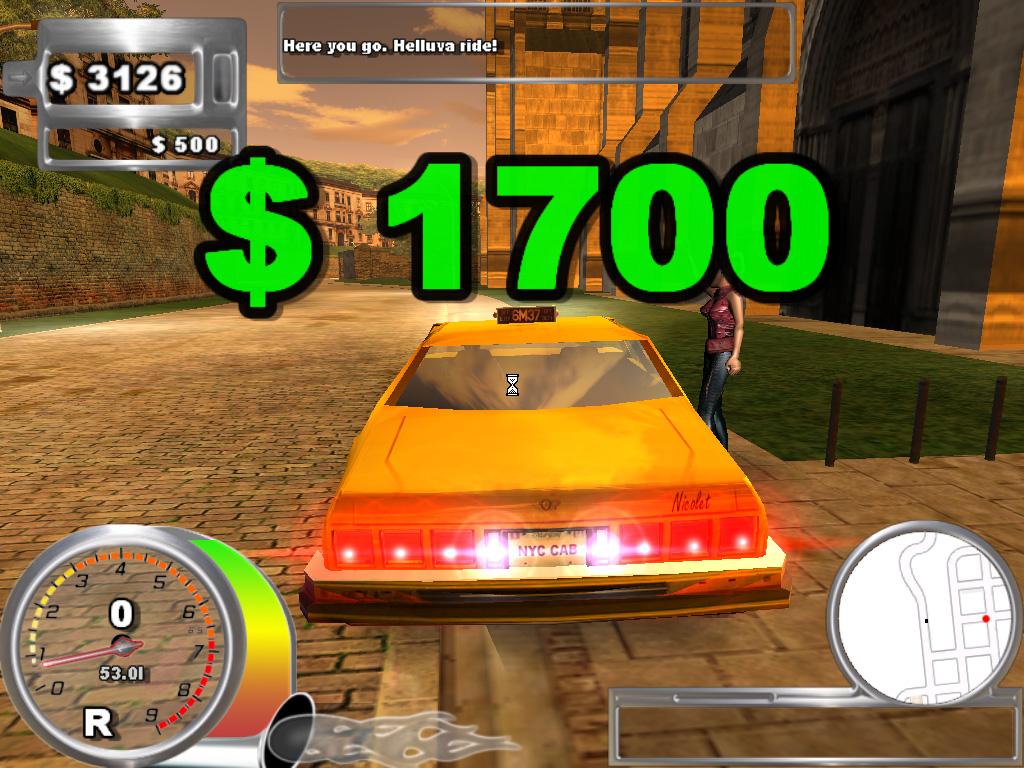 لعبه Super Taxi driver 2006