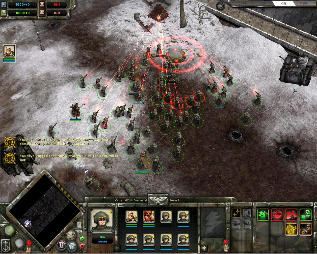 GamePatchPlanet - Warhammer 40,000: Dawn of War - Winter