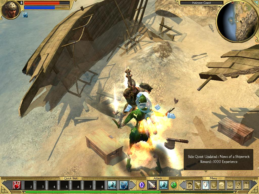 titan quest how to get to delphi