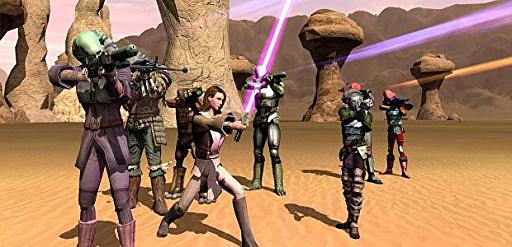 画像集#004のサムネイル/[GDC 2021]クラシックゲーム・ポストモーテムに「スター・ウォーズ ギャラクシーズ」が登場。ゲーマーの期待を裏切り続けたMMORPGは,どのようにして生まれたのか
