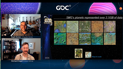 画像集#006のサムネイル/[GDC 2021]クラシックゲーム・ポストモーテムに「スター・ウォーズ ギャラクシーズ」が登場。ゲーマーの期待を裏切り続けたMMORPGは,どのようにして生まれたのか