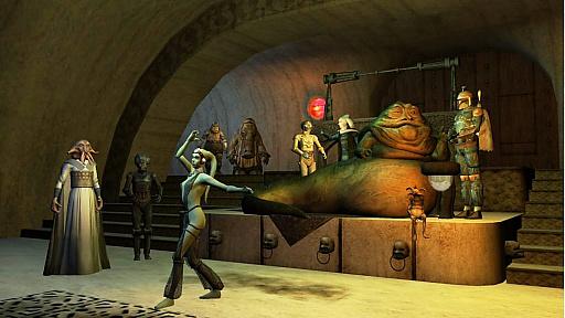 画像集#012のサムネイル/[GDC 2021]クラシックゲーム・ポストモーテムに「スター・ウォーズ ギャラクシーズ」が登場。ゲーマーの期待を裏切り続けたMMORPGは,どのようにして生まれたのか