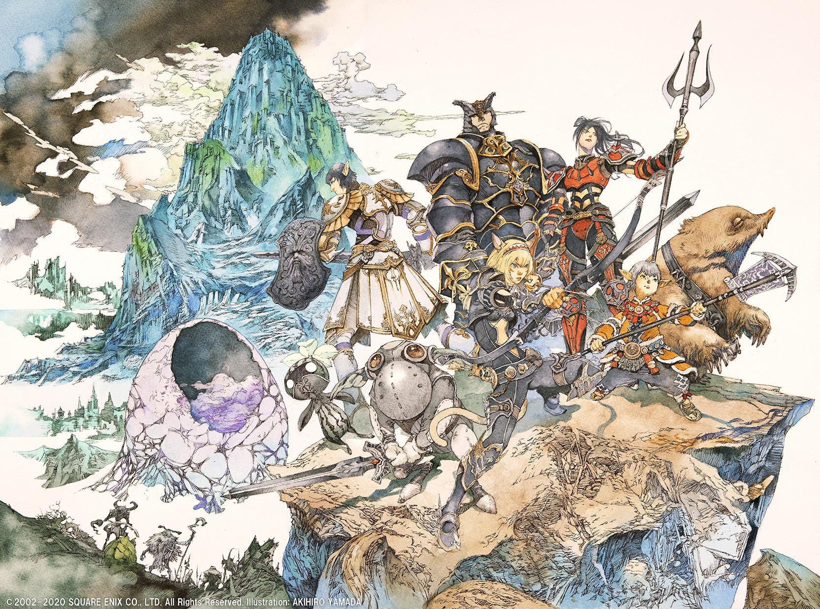Ffxi の新ストーリー 蝕世のエンブリオ が8月6日に始動 山田章博氏のイメージイラストと特設サイトが本日公開