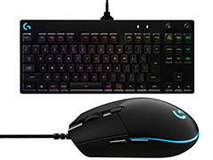 Logicool G,「Pro Gaming Mouse」「Pro Mechanical Gaming Keyboard」を3月30日に国内発売。「PRO」シリーズがついに上陸へ