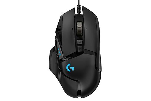 logitech g 新型ワイヤードマウス g502 hero gaming mouse を発表