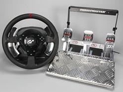 6万円超級のGT5公認ステアリングコントローラ「T500 RS」レビュー。価格