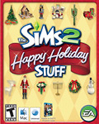 The Sims 2 Happy Holiday Stuff(Macintosh)