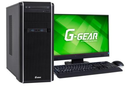 RTX 2080&i7-8700搭載のゲーマー向けデスクトップPCがG-GEARから