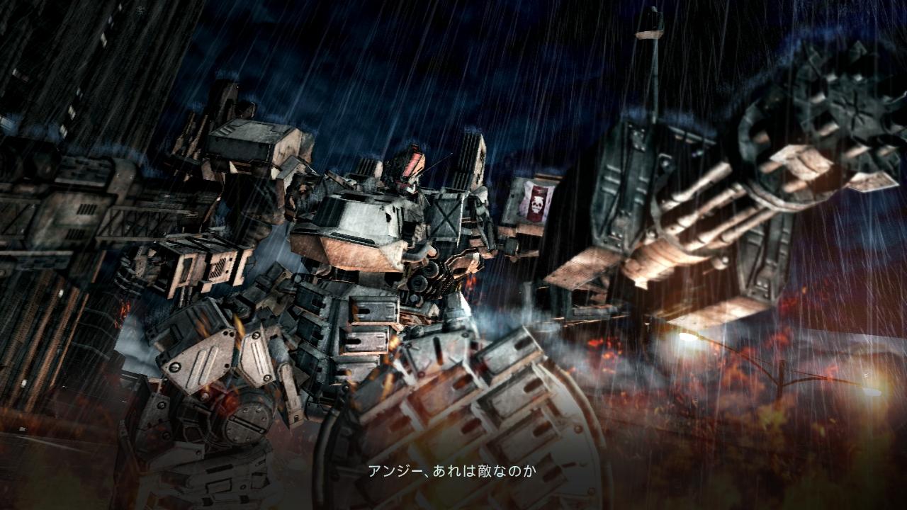 画像集 012 2人協力プレイも可能な Armored Core V 物語とともに