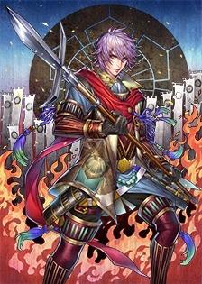 画像(008)「戦国IXA」,猛将「鮭延秀綱」など計9枚の武将カードが本日実装