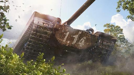 """画像集#001のサムネイル/PC版「World of Tanks」で,新マップ""""山間の港湾""""やチェコスロバキア重戦車ルートを追加するアップデート1.14が実装"""