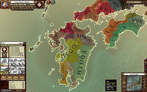 日本 日本 地域分け : 戦国【完全日本語版】