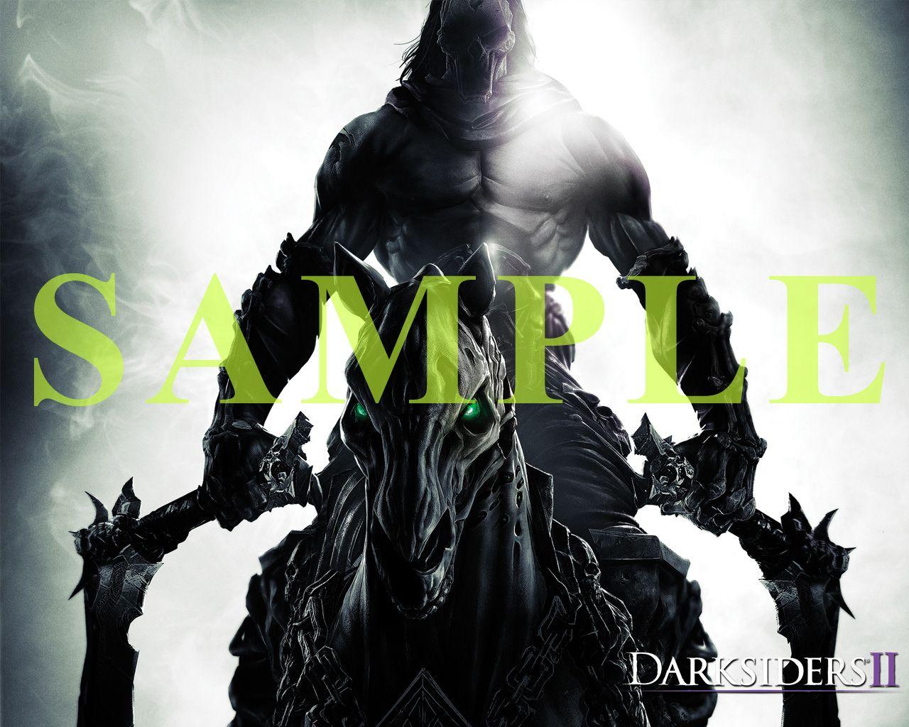 画像集 002 明日発売 Darksiders Ii 死の騎士 デス の壁紙5種が