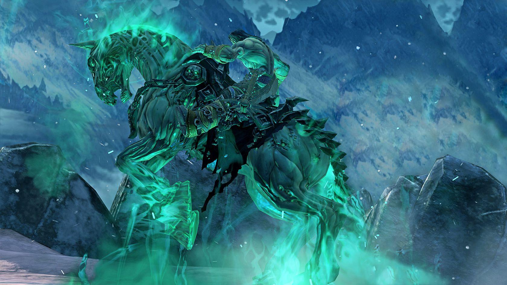 画像集 008 明日発売 Darksiders Ii 死の騎士 デス の壁紙5種が