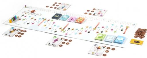 画像集#002のサムネイル/ボードゲーム「東海道」の日本語版が8月下旬に発売。京都から江戸を目指そう