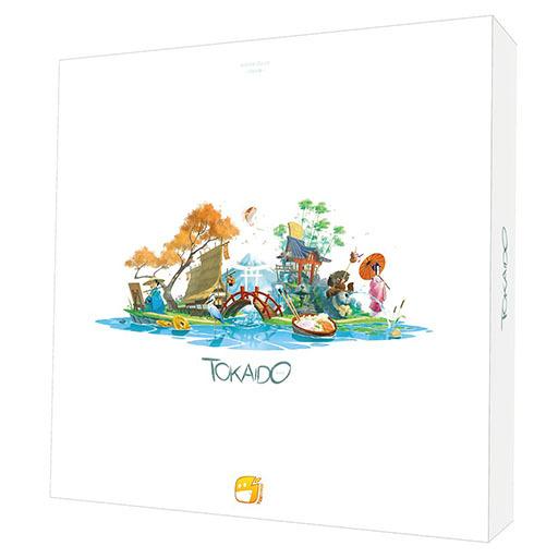 画像集#003のサムネイル/ボードゲーム「東海道」の日本語版が8月下旬に発売。京都から江戸を目指そう