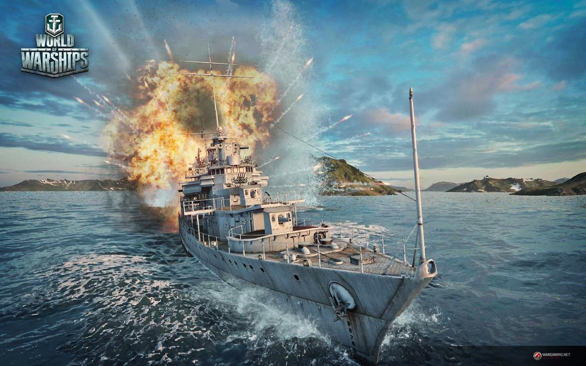 画像集 010 E3 2014 World Of Warships は日米艦船で開戦へ