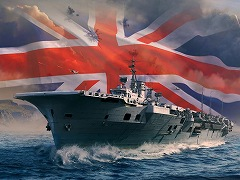 「World of Warships」,イギリス空母の「Hermes」「Furious」「Implacable」が先行実装。艦載機は耐久力と攻撃力が高めに