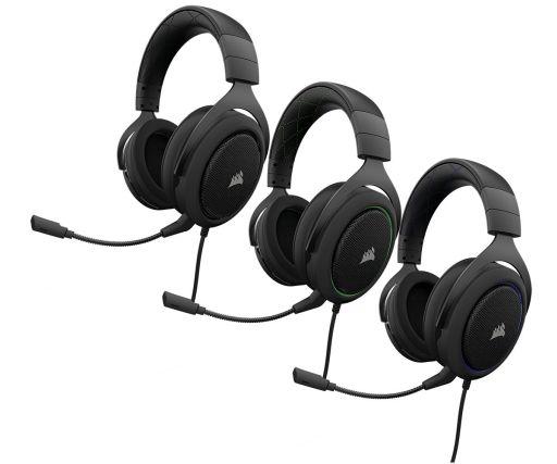 8a4beea6a33 50mmドライバーを採用するCorsair製アナログ接続型ヘッドセット「HS50 ...