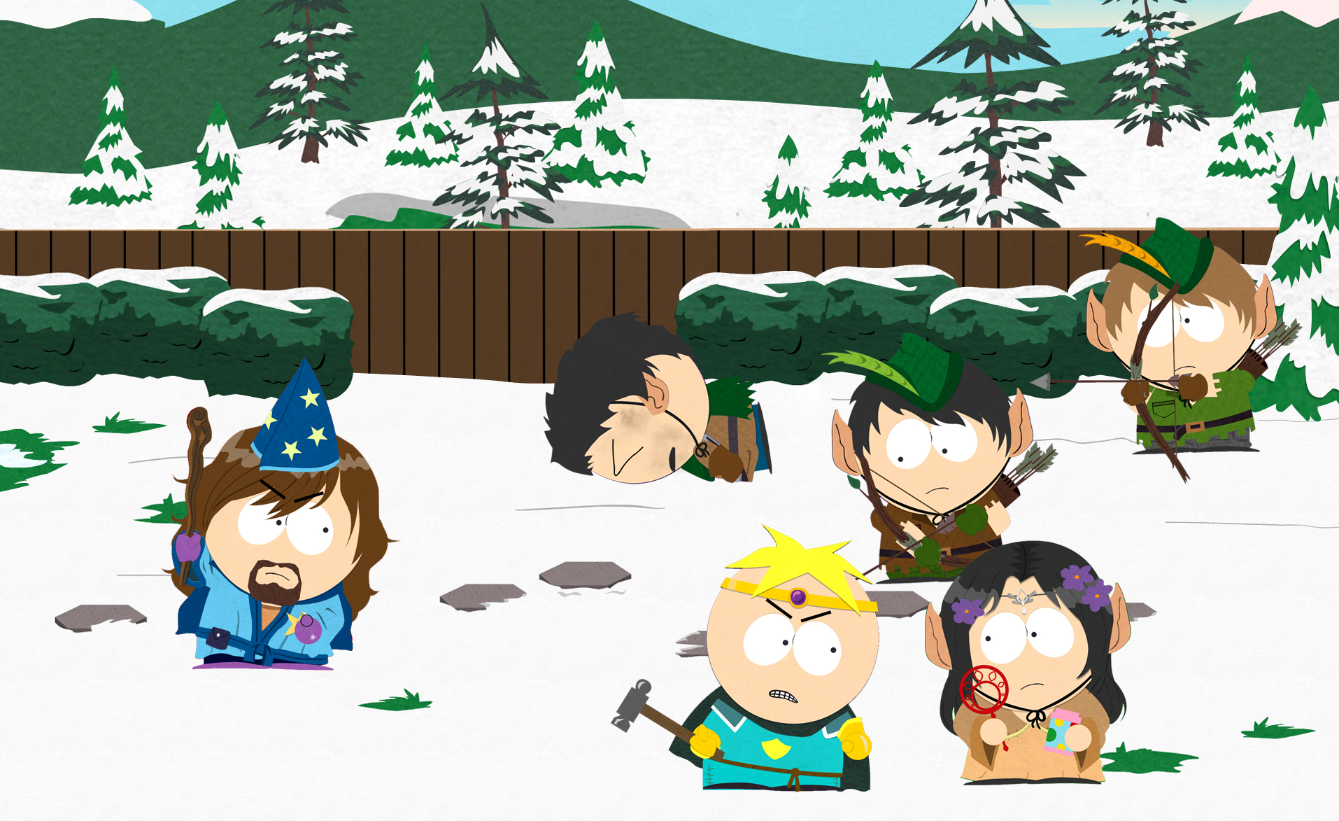 e3 2012 サウスパークの世界を舞台にしたrpg south park the stick of