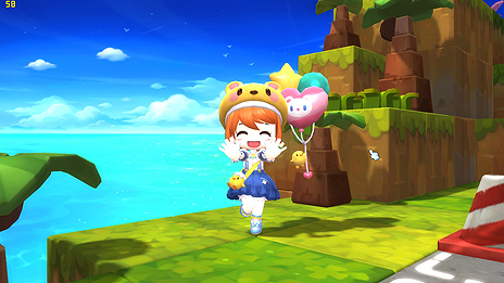 画像(003)「メイプルストーリー2」の正式サービスが本日スタート。3Dとなったメイプルワールドで「つくって」楽しむPC用MMORPG