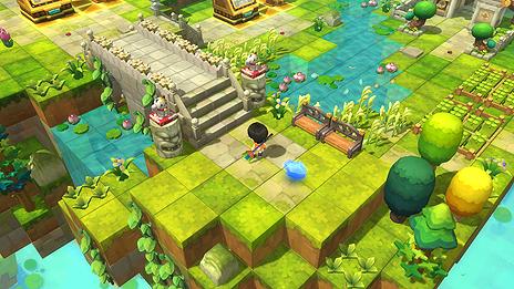 画像(014)「メイプルストーリー2」の正式サービスが本日スタート。3Dとなったメイプルワールドで「つくって」楽しむPC用MMORPG