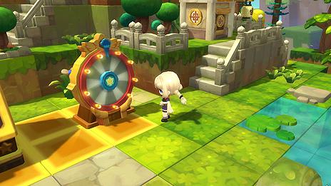 画像(019)「メイプルストーリー2」の正式サービスが本日スタート。3Dとなったメイプルワールドで「つくって」楽しむPC用MMORPG
