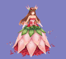 画像(005)「イルーナ戦記オンライン」,新ミッション「日向の花姫」が公開に