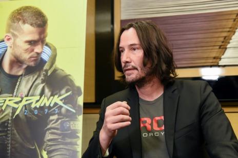 画像(007)[TGS 2019]「サイバーパンク2077」の出展ブースにキアヌ・リーブスさんがサブライズ来場。インタビューが公開に