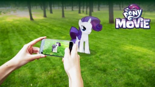 my little pony ポニーと一緒に写真を撮れるar機能が実装に 4gamer net