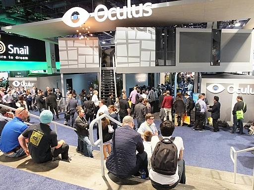 [CES 2015]Oculus VRで「Rift」の最新プロトタイプ機「Crescent Bay」が一般向けに初公開。デモを体験しつつ,副社長に製品化の進捗を聞いてきた