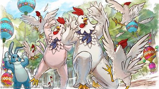 """画像集#002のサムネイル/「ファイナルファンタジーXIV」にてシーズナルイベント""""エッグハント""""が4月14日より開催。報酬はニワトリの着ぐるみスーツ"""