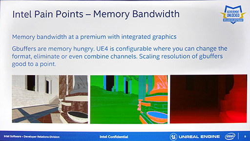 GDC 2016]「Unreal Engine 4」を統合型グラフィックス機能で