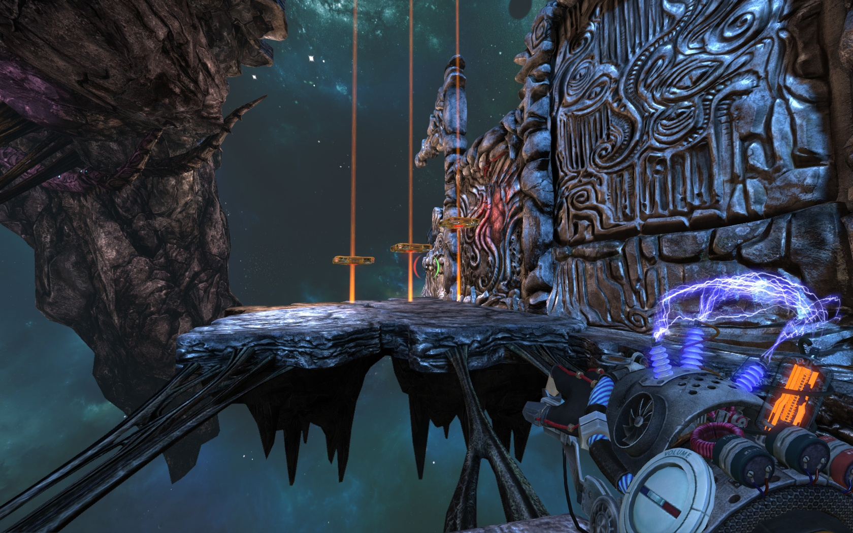 画像集 014 未来のテクノロジーとクトゥルフ神話を融合したアクションパズルゲーム Magrunner