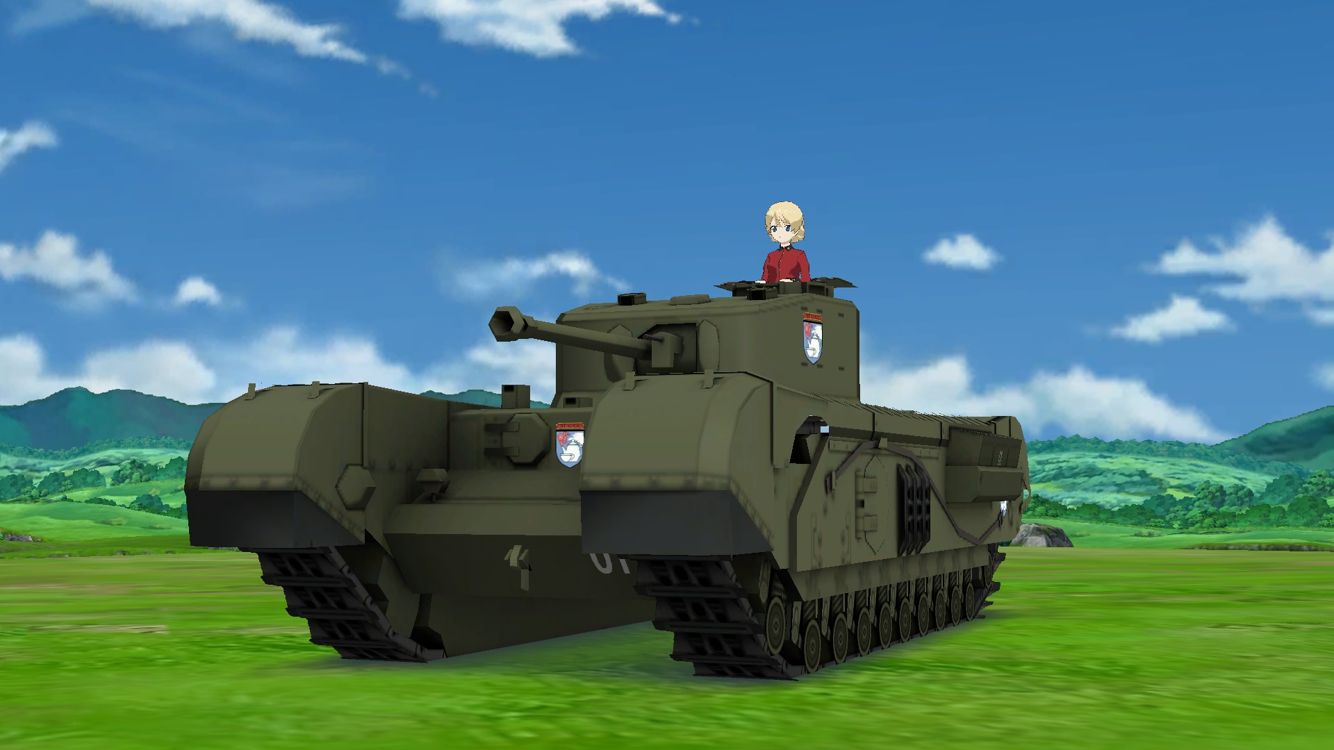 画像集 011 ガールズ パンツァー 戦車道 極めます ストーリーモードはミッションクリア型