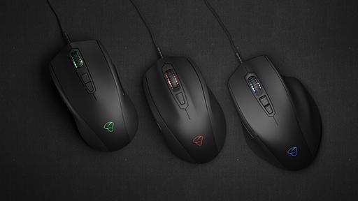 画像集#001のサムネイル/eスポーツ向けを謳うMionix製マウス「NAOS Pro」「CASTOR Pro」「AVIOR Pro」が国内発売