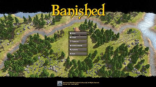 都市建設シミュレーションの新作として欧米ゲーマーの注目を集める「Banished」のプレイレポート。ミクロ視点で村を発展させる本作の面白さは,どこにあるのか