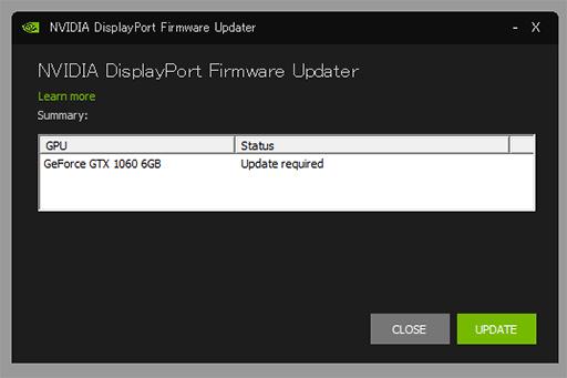 NVIDIA,DisplayPort 1 4&1 3接続時に画面が表示されなかったりする問題