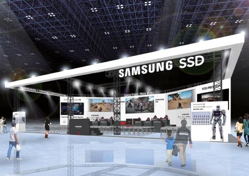 画像集#001のサムネイル/【PR】「Samsung SSD」ブースがTGS 2018に出展。インディーズゲーム特集やeスポーツイベントなど盛りだくさんの内容に
