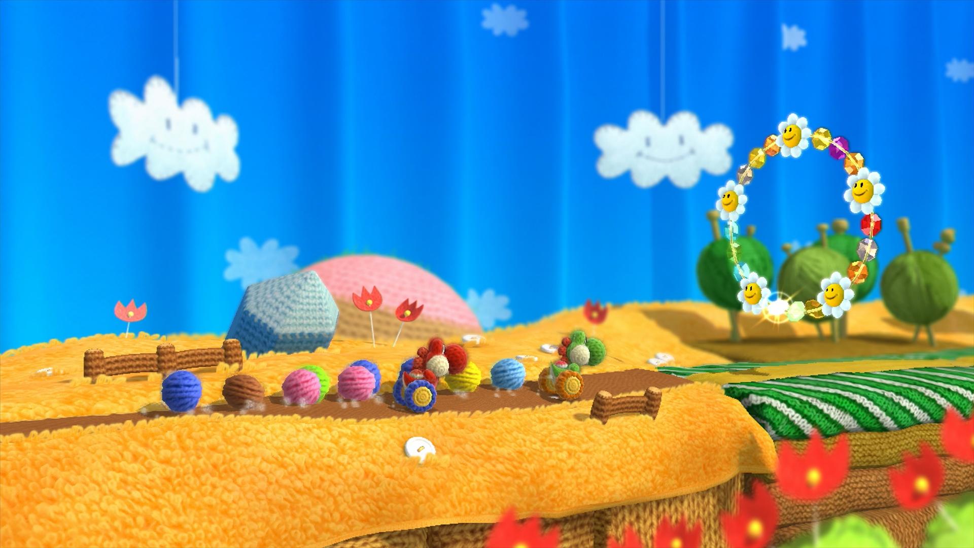 画像集 008 ヨッシー ウールワールド Wii U 4gamer Net