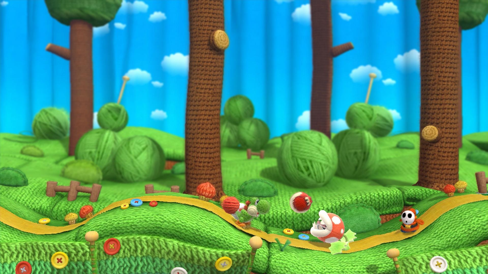 画像集 010 ヨッシー ウールワールド Wii U 4gamer Net