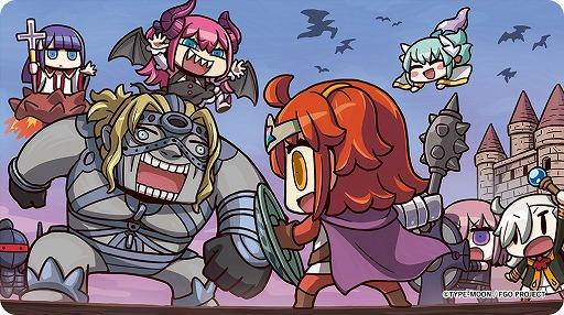 画像(003)フィールド探索型RPG「Fate/Grand Order Quest」が配信開始。FGOでは「聖晶石」10個をもらえるキャンペーンが実施中
