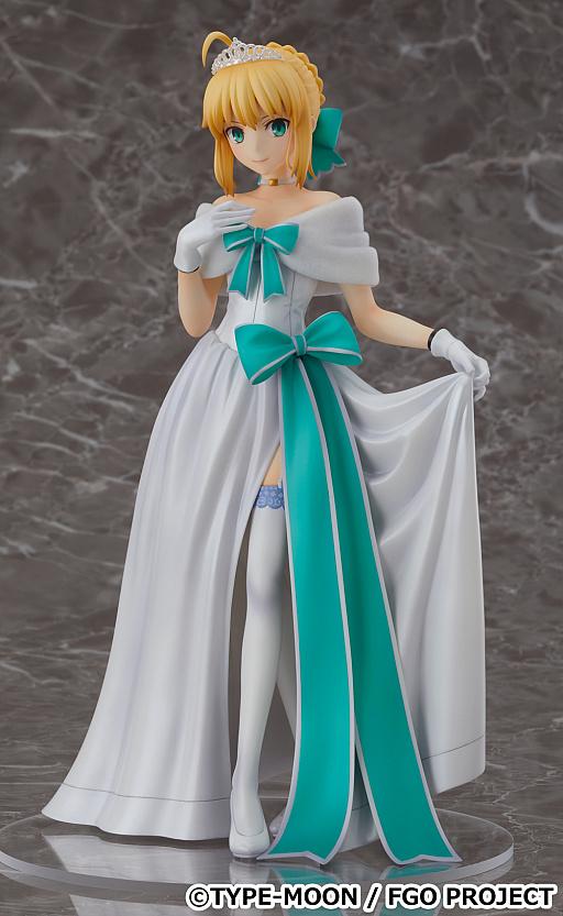 画像(001)「FGO」,アルトリア・ペンドラゴンのフィギュアが予約受付を開始。二周年記念概念礼装「英霊正装」イラストがモチーフ