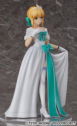画像(003)「FGO」,アルトリア・ペンドラゴンのフィギュアが予約受付を開始。二周年記念概念礼装「英霊正装」イラストがモチーフ