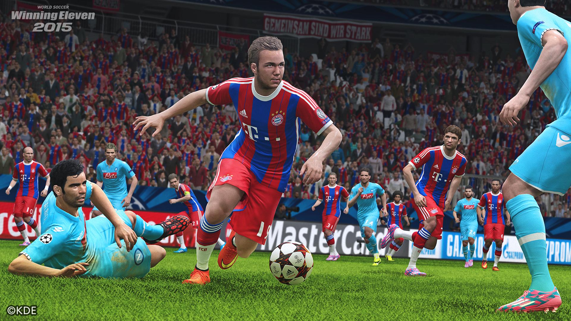 PS4,PS3,Xbox One用ソフト「ワールドサッカー ウイニングイレブン 2015」の発売日が2014年11月