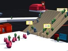 ハロー!Steam広場 第266回:地下鉄駅がダンジョン化しないよう構内を整備していくシミュレーションゲーム「STATIONflow」