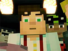 「Minecraft: Story Mode」の第1エピソード,「The Order of the Stone」を紹介するトレイラー公開
