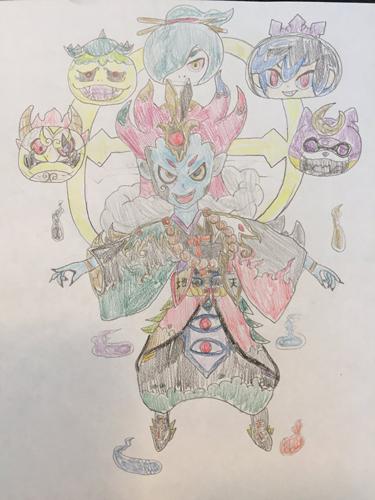 画像集 008 妖怪ウォッチ ぷにぷに 勝手に獣神化 イラストコンテスト の最優秀作品