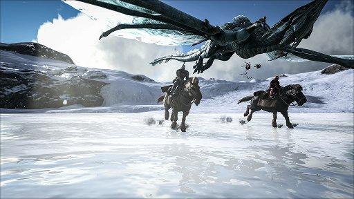 E3 2017 「ark Survival Evolved」のpc版で配信された新大陸追加mod